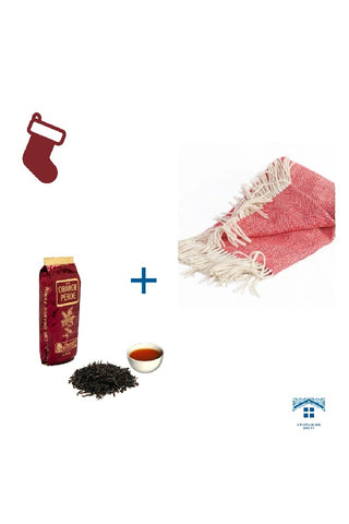 *Christmas´ Presents Ideas* - Orange Pekoe Black Tea + Travel Throw