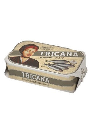 Tricana - Sardines with Garlic and Olive Oil