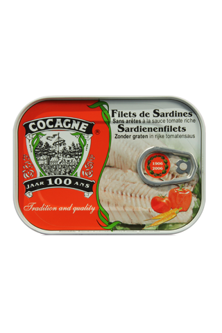 Cocagne - Sardine Fillets in rich tomato sauce