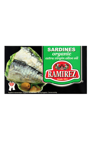 Ramirez - Sardines in Extra Virgin Organic Olive Oil