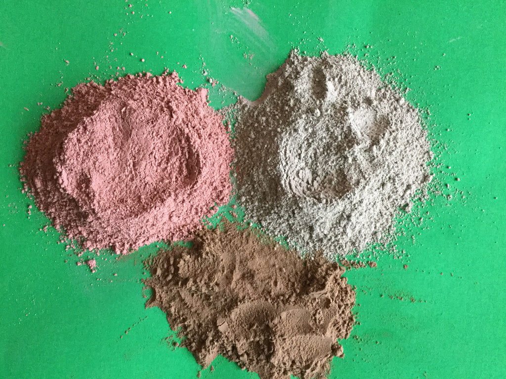 Clay Benefits on the skin