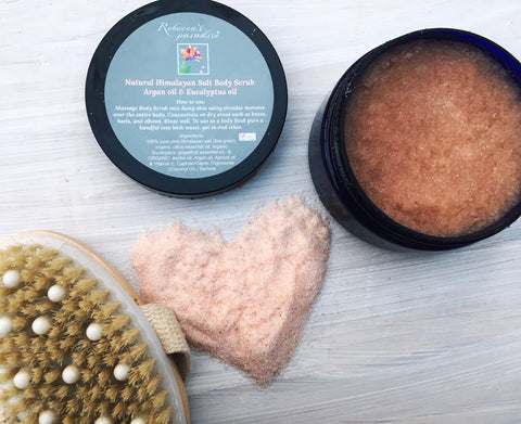 Himalayan Body Scrub with Eucalyptus &  Argan