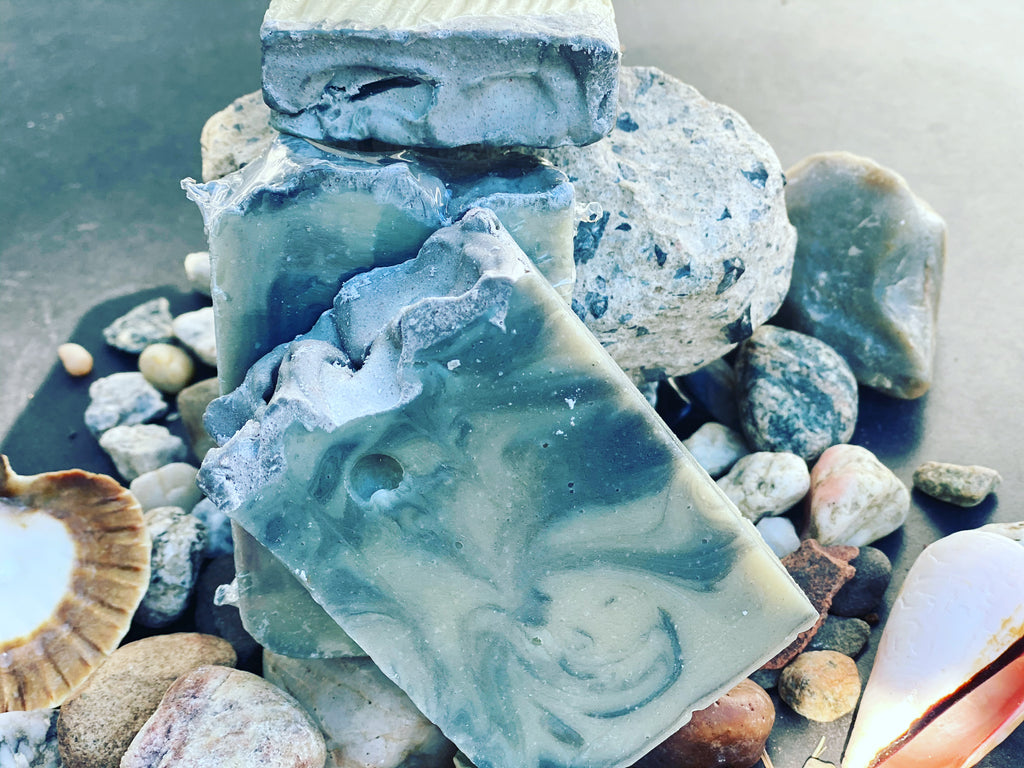 Paradise Lavender Sea Clay with Lemongrass and Black Sea salt Soap