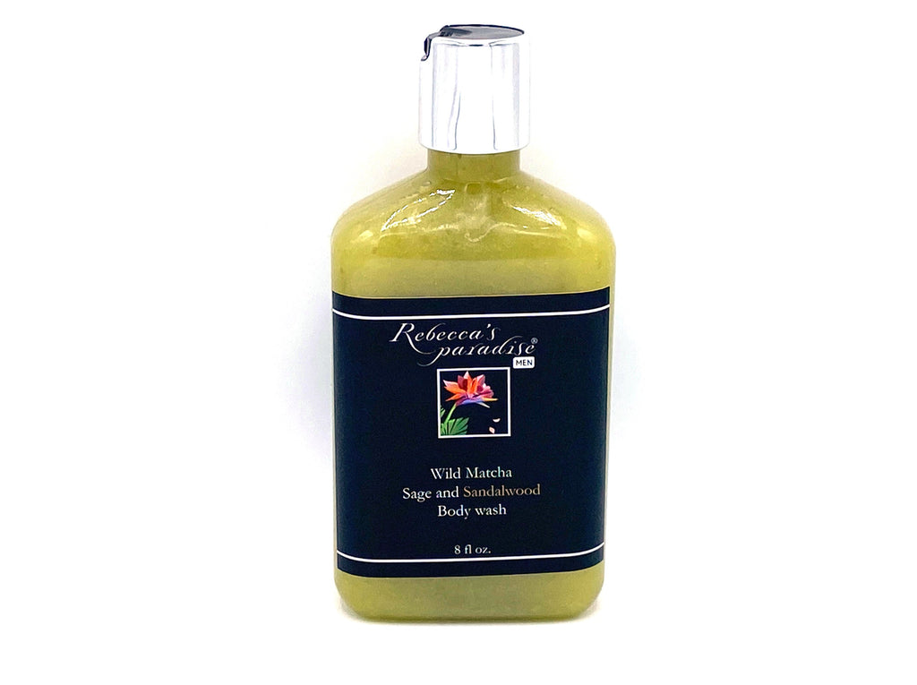 Wild Matcha Sage and Sandalwood Men body wash