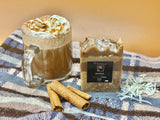 Paradise Cinnamon Coconut Latte Soap