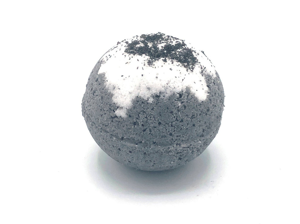 Paradise Charcoal Tea Tree and Sea salt Bath Bomb