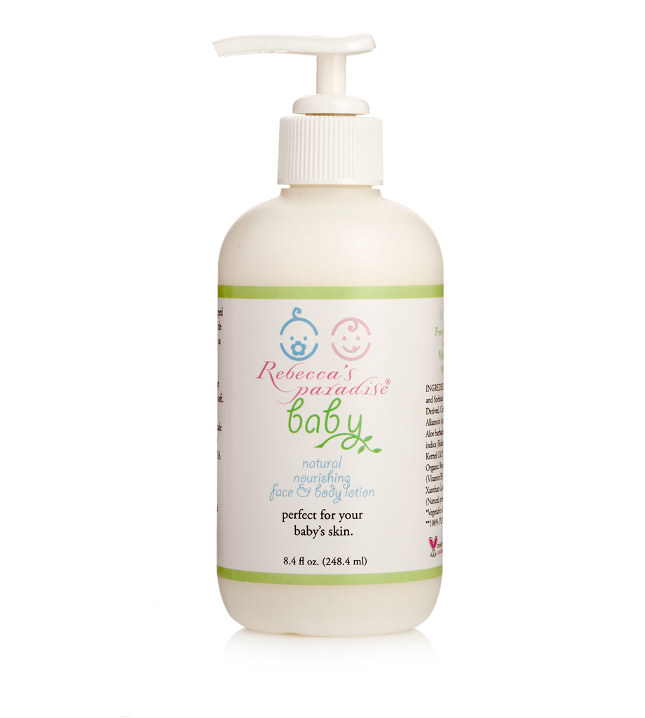 Natural Baby nourishing Face and  Body Lotion - Rebecca's Paradise