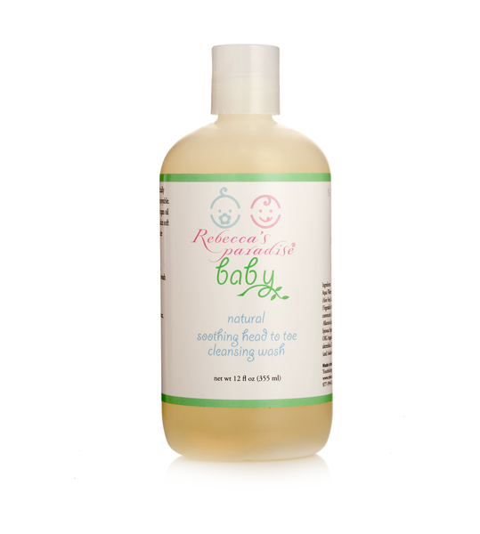Rebecca's Paradise Baby Natural soothing head to toe cleansing wash - Rebecca's Paradise
