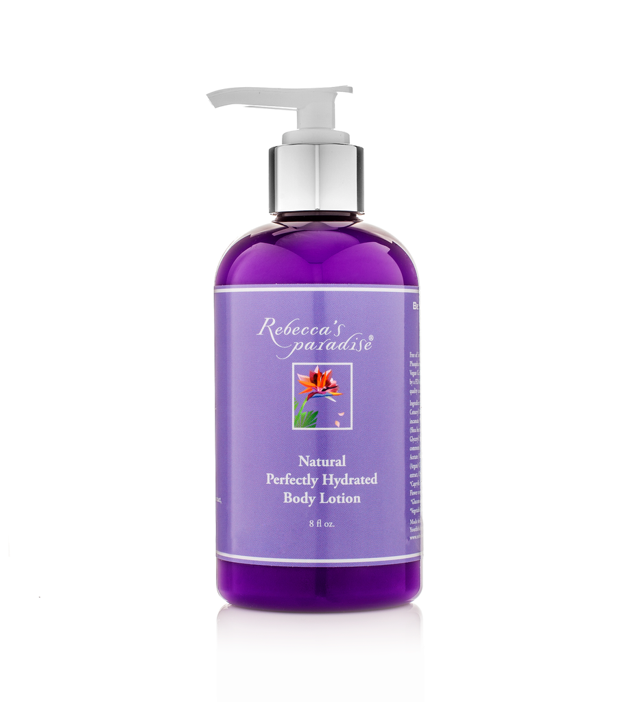 Natural Perfectly Hydrated Body Lotion - Rebecca's Paradise