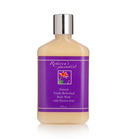 Natural Totally Refreshed Body Wash with Passion fruit - Rebecca's Paradise