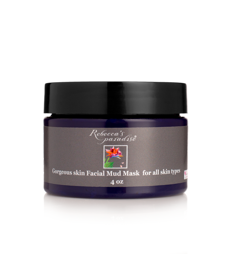 Gorgeous skin Facial Mud Mask - Rebecca's Paradise