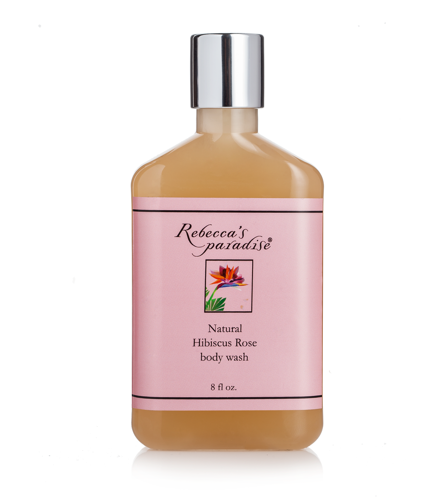 Hibiscus Rose body wash - Rebecca's Paradise