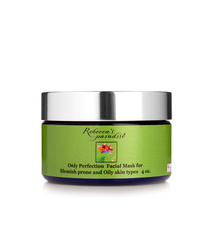 Natural Only Perfection facial masque Combination/ Blemish prone/Normal and Oily skin - Rebecca's Paradise