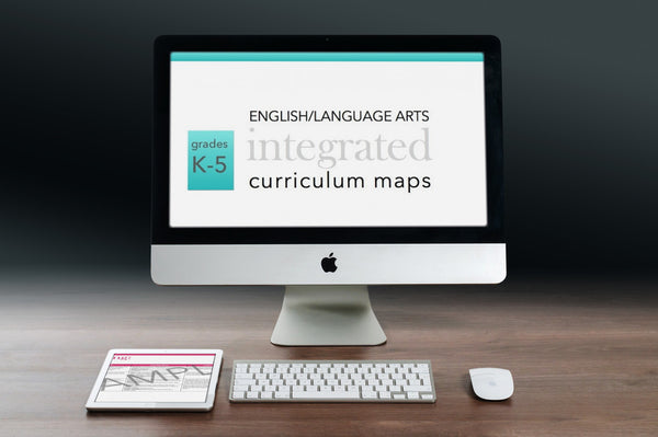 K-5 E/LA Curriculum Map SET