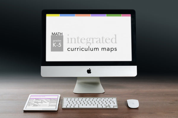 K-5 Math Curriculum Map SET
