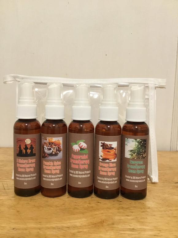 Holiday Aromatherapy Room Spray Collection Gift Set