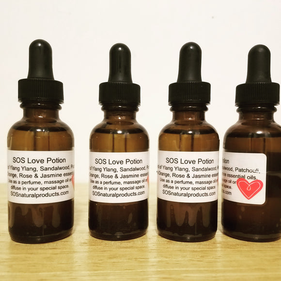Love Potion Body Oil