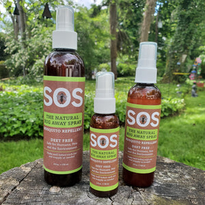 All Natural - SOS The Natural Bug Away Spray Mosquito Repellent