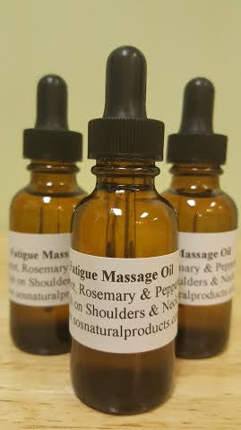 Fatigue Therapeutic Massage Oil