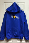 CO FLAG BRONCO HOODIE-ROYAL