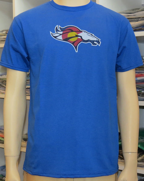 CO FLAG BRONCO-ROYAL