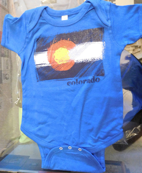 CO DISTRESSED FLAG-ONSIE ROYAL
