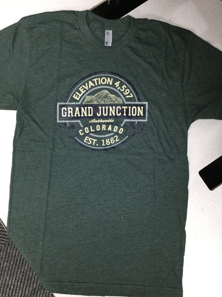 Grand Junction-Elevation 4,597-MADE IN USA