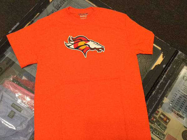CO FLAG BRONCO-ORANGE