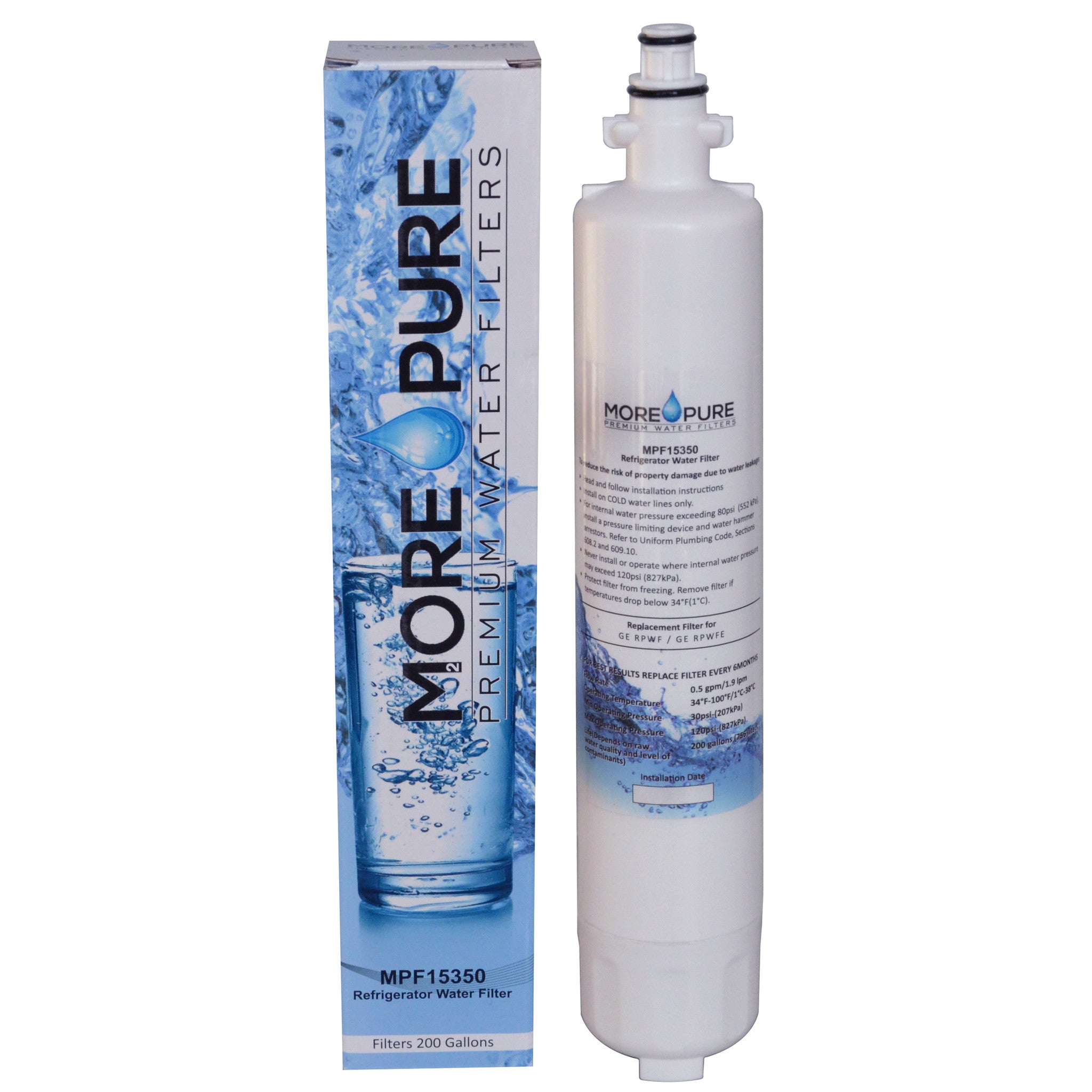 How To Replace Ge Water Filter Mpf15350 Ge Rpwf Compatible Refrigerator Water Filter More