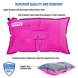 Camping Pillow | Inflatable Backpacking Pillow (Pink) - Amurrayca  - 4