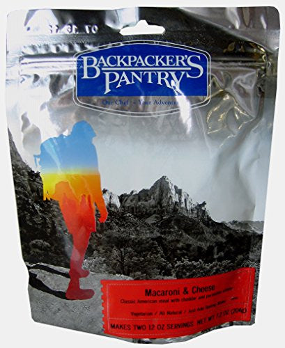 Backpacker's Pantry Macaroni & Cheese, Two Serving Pouch - Amurrayca  - 1