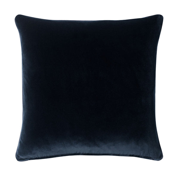 Midnight Scarlet Silk Cushion - Reflect and Repeat  - 2