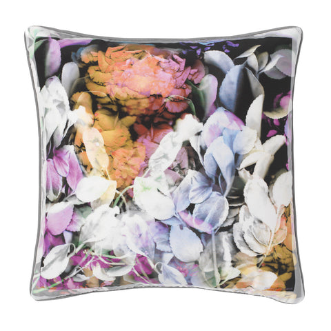 Flora Silk Cushion - Reflect and Repeat  - 1