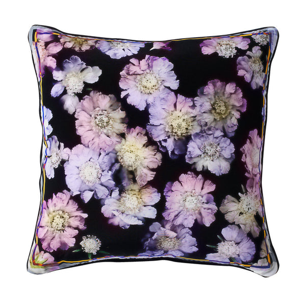 Iona Silk Cushion - Reflect and Repeat  - 1