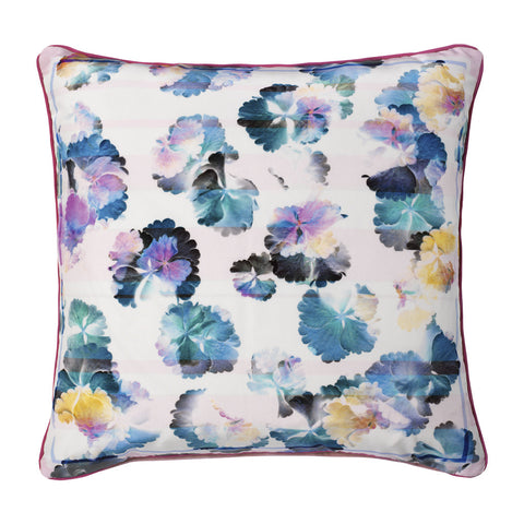 Jasmine Silk Cushion - Reflect and Repeat  - 1