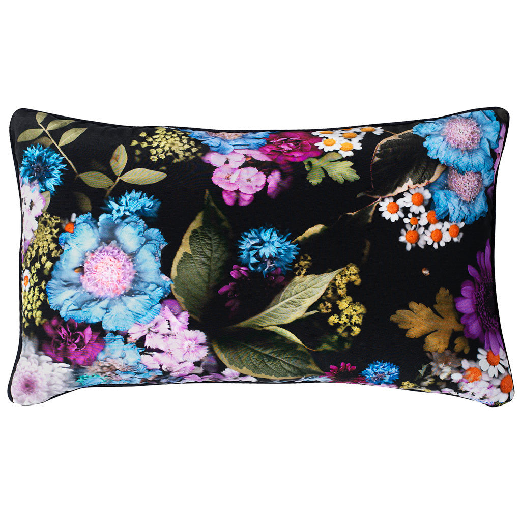 Leia Silk Cushion - Reflect and Repeat  - 1