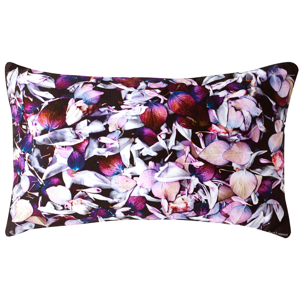 Petal Organic Cotton Cushion - Reflect and Repeat  - 1