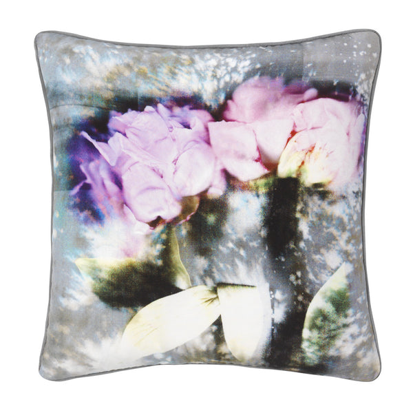 Rosie Silk Cushion - Reflect and Repeat  - 1