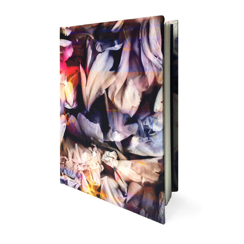 "Thea Silk Covered 5"" x 7"" Notebook - Reflect and Repeat  - 1"