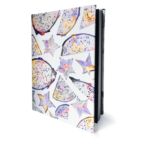 Tutti Frutti Cotton Covered A5 Notebook - Reflect and Repeat  - 1