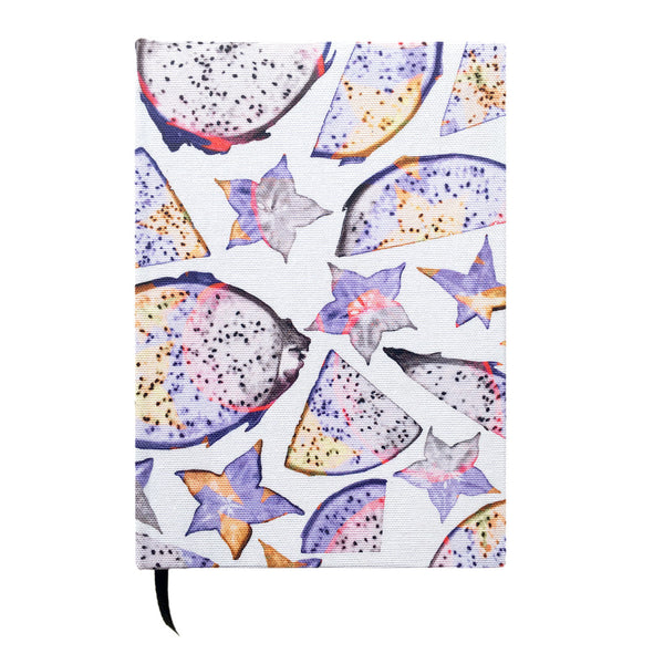Tutti Frutti Cotton Covered A5 Notebook - Reflect and Repeat  - 2