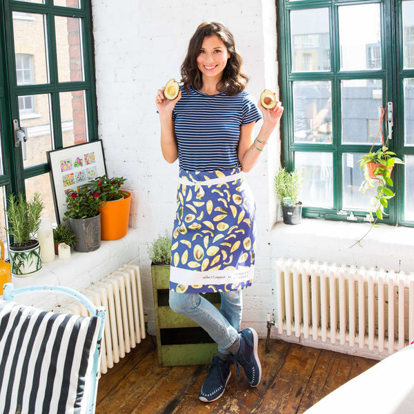 Reflect & Repeat for Hemsley + Hemsley Avocado Apron - Reflect and Repeat  - 4