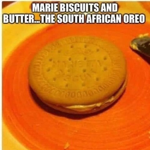 😆South African Oreo ingredients are...