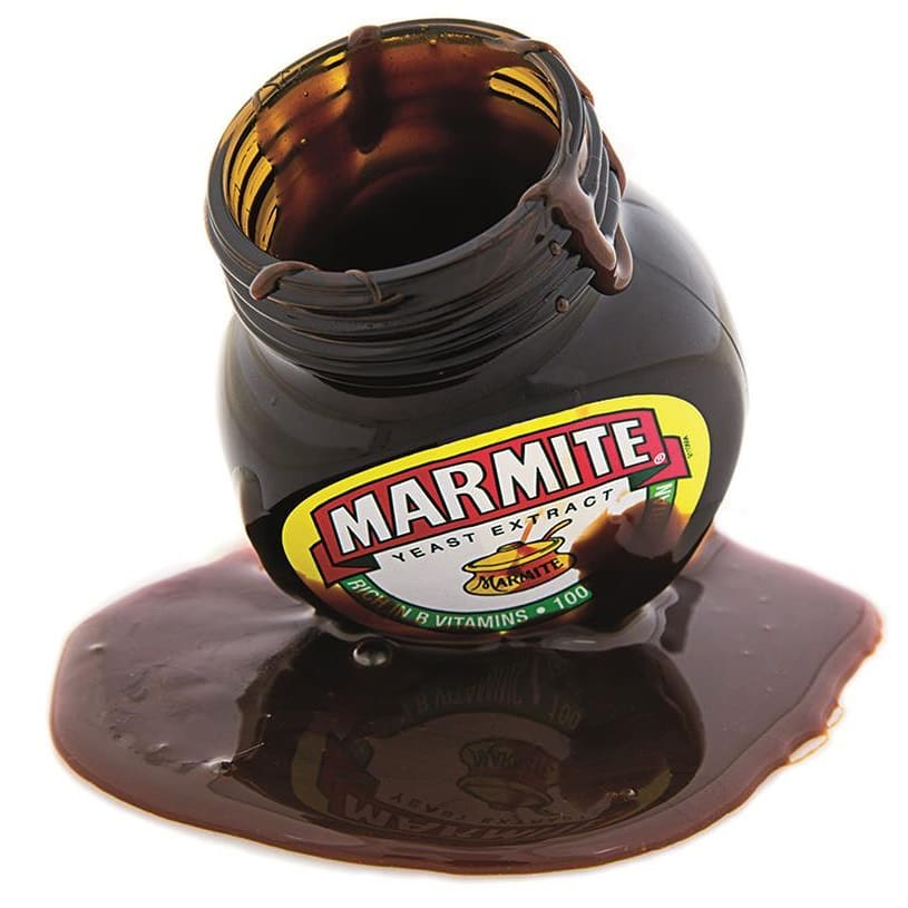 Black gold (AKA Marmite) is...