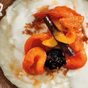 Sweet & Simple  Pap with Savory Stewed Fruit