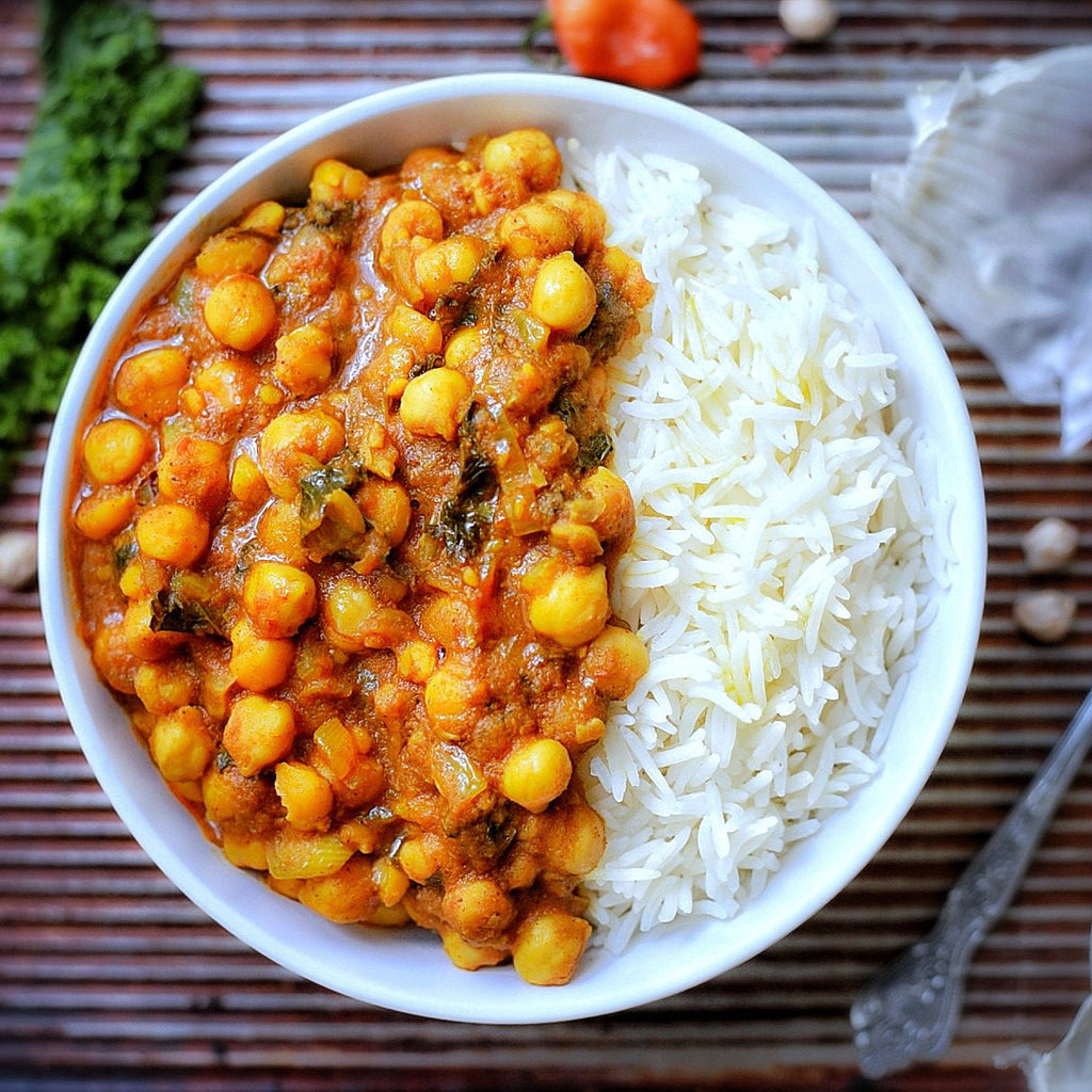 Creamy South African Chickpea Curry