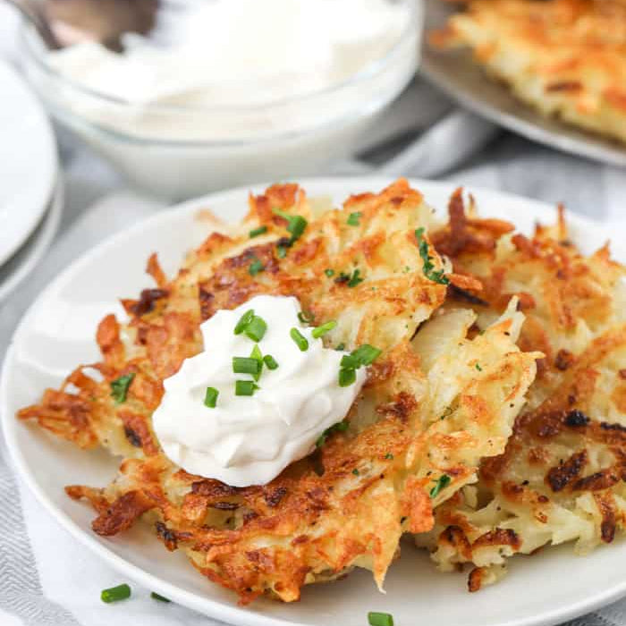 Potato Pancakes with a Twist!