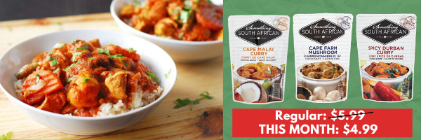$1 OFF Something South African Sauces