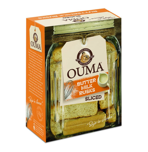 OUMA Buttermilk Rusks (450g) from South Africa - AubergineFoods.com