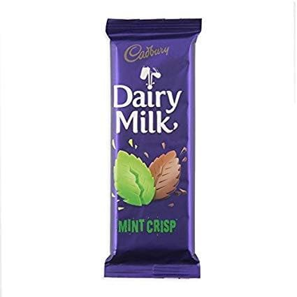 Dairy Milk Mint Crisp (80g) | Food, South African | USA's #1 Source for South African Foods - AubergineFoods.com